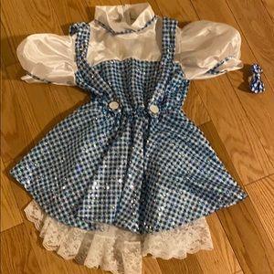 Dorothy halloween costume size 4-5